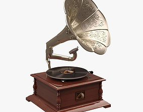 Gramaphone 002 HIS MASTERS VOICE 3D