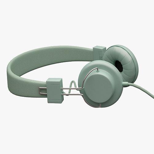 urbanears headphone 001 3d model max obj fbx mtl 1