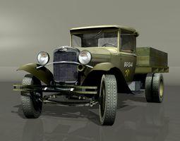 GAZ-AA Truck  Lorry 3D Model