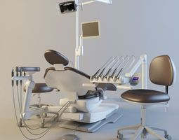 3d model dental chairs