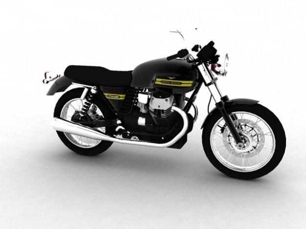 Moto Guzzi V7 Classic 20103D model