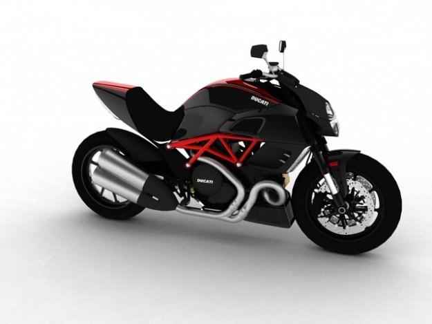 Ducati Diavel 20113D model