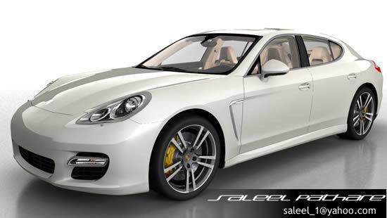 Porsche Panamera 20123D model
