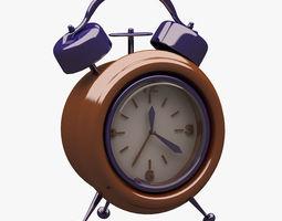 Alarm Clock 001 3D model