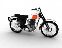 3D BSA B44 Victor Enduro 1966