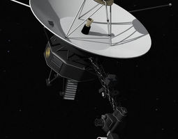 Voyager nasa 3D Model