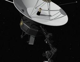 Voyager nasa 3D Model
