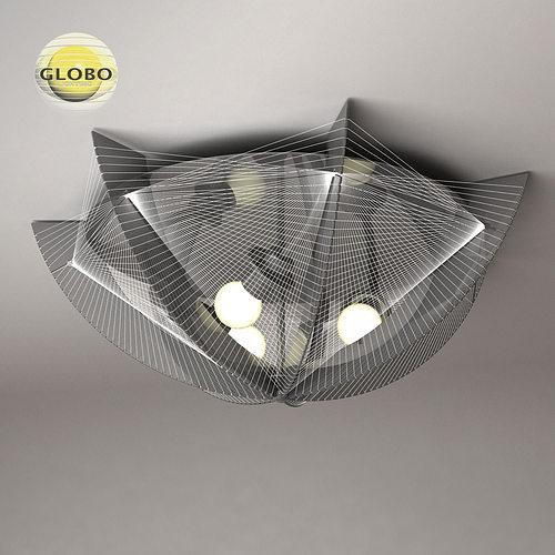 ceiling lamp globo lightning 1 3d model max obj mtl 3ds fbx 1