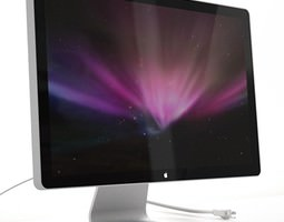 Apple LED Display - 24 3d model