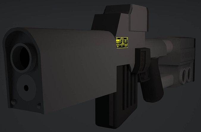 laser repeater 3d model max obj mtl 3ds fbx c4d stl 1