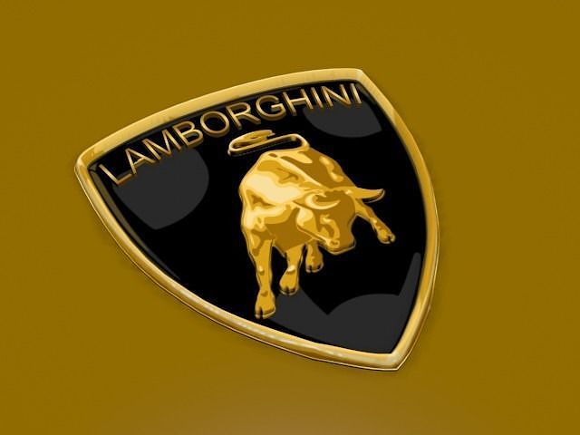 3D model Lamborghini Logo   CGTrader   640 x 480 png 181kB