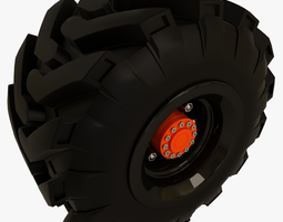 3d tractor and offroad truck tire