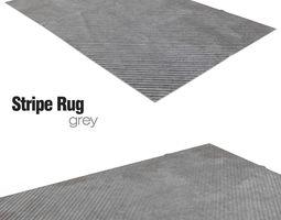 Stripe Rug 3D Model