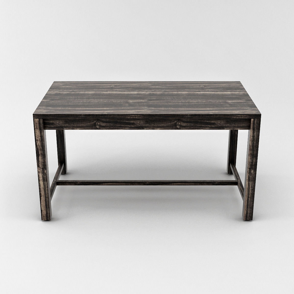Marvelous photograph of Dark Wooden Office Table 3D Model .max .obj .3ds .fbx CGTrader.com with #675B50 color and 1200x1200 pixels