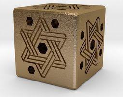 dice keychains Dice 3D print model