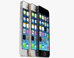 Apple iPhone 5s 3D Model