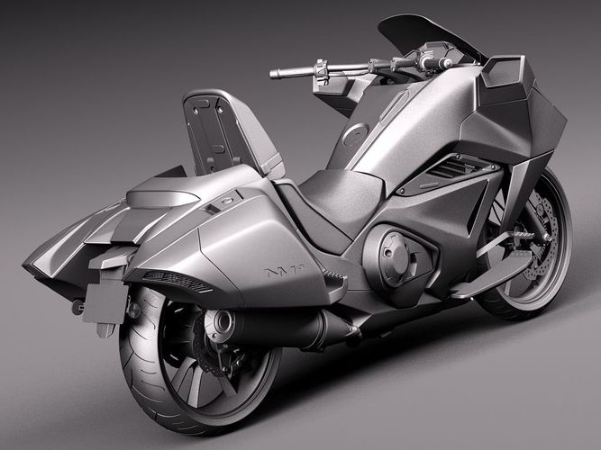 Honda NM4 Vultus 2014 3D Model .max .obj .3ds .fbx .c4d ...