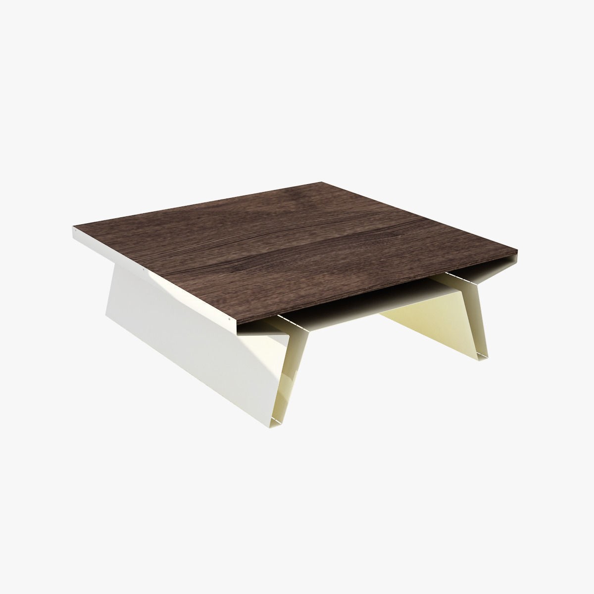 Modern barbarella square cocktail table 3d model max for Square cocktail table