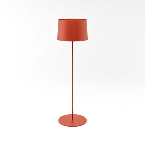 Red twiggy reading floor lamp 3d model max cgtradercom for Reading lamp floor model