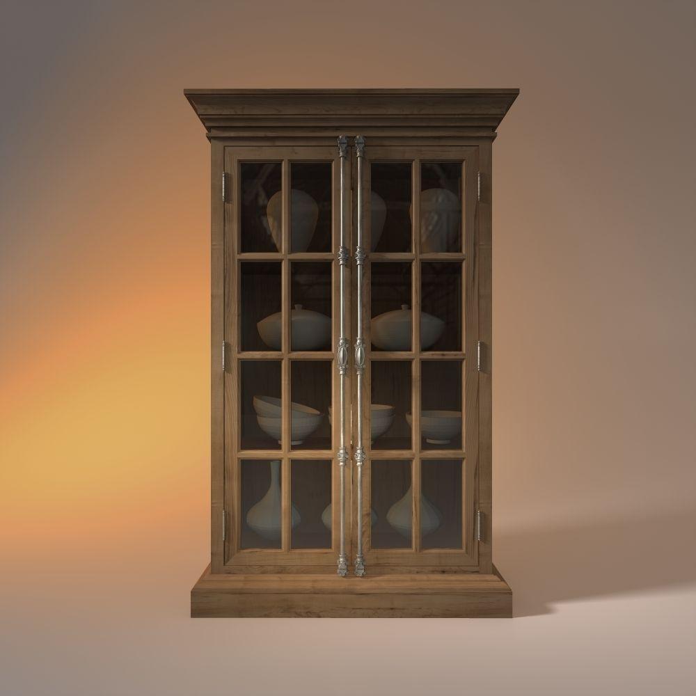 cabinet rh 3d model obj 3ds fbx 3dm dwg. Black Bedroom Furniture Sets. Home Design Ideas