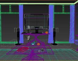 Mr Living Room 01 3D Model