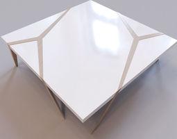 Roche Bobois - Mangrove cocktail table 3D asset