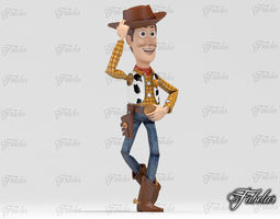 Woody pose 1 - Printable 3D Model
