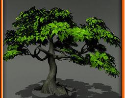 tree - set 01 3D Model