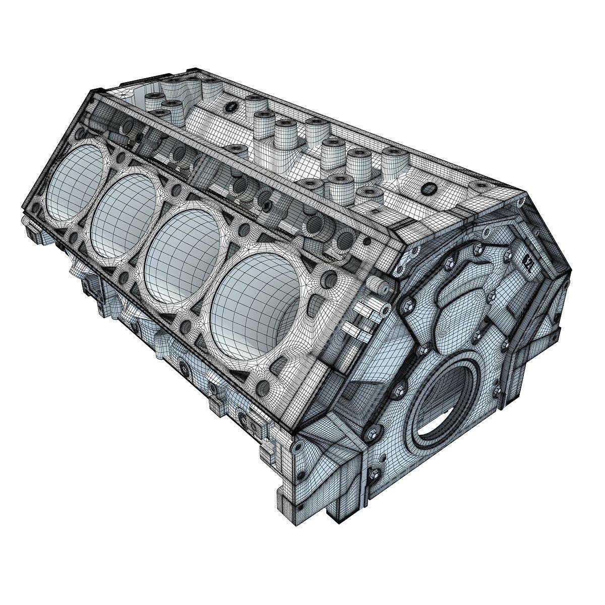 Engine Block D