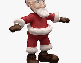 Santa LOWPOLY TOPOLOGY NOT RIGGED santa 3D