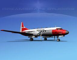 Convair T-29 USAF V02 3D