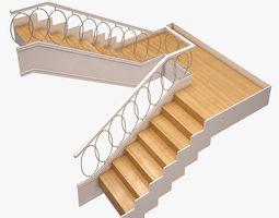 3D model Stair 003