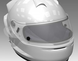race car helmet 3d