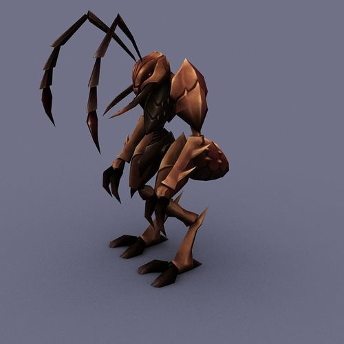 BSoldier Ant cartoon3D model