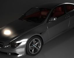 2015 BMW 6 series Coupe 3D Model