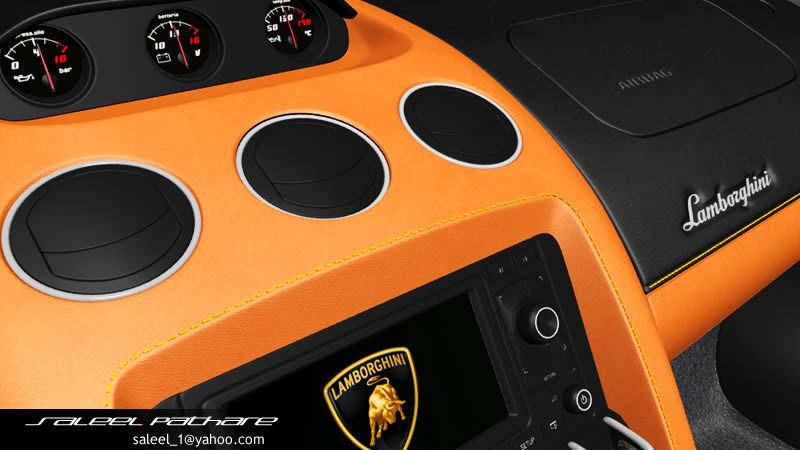 Lamborghini Gallardo Spyder Lp 550 3d Model Cgtrader