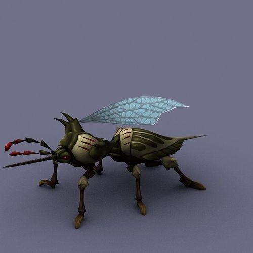 preview beetle cartoon3D model