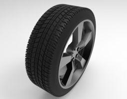 chevrolet camaro wheel 3D fbx