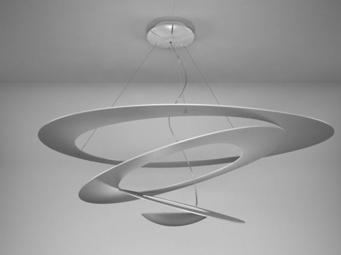 Artemide pirce suspension 3d model c4d cgtrader com