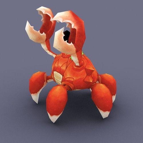 Vadon crab cartoon3D model