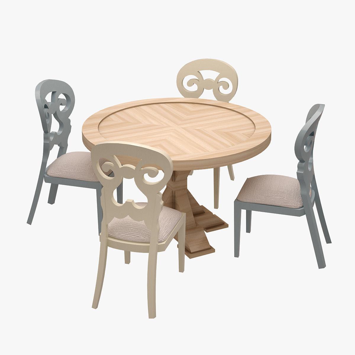 3D model Dinner Set 009 | CGTrader