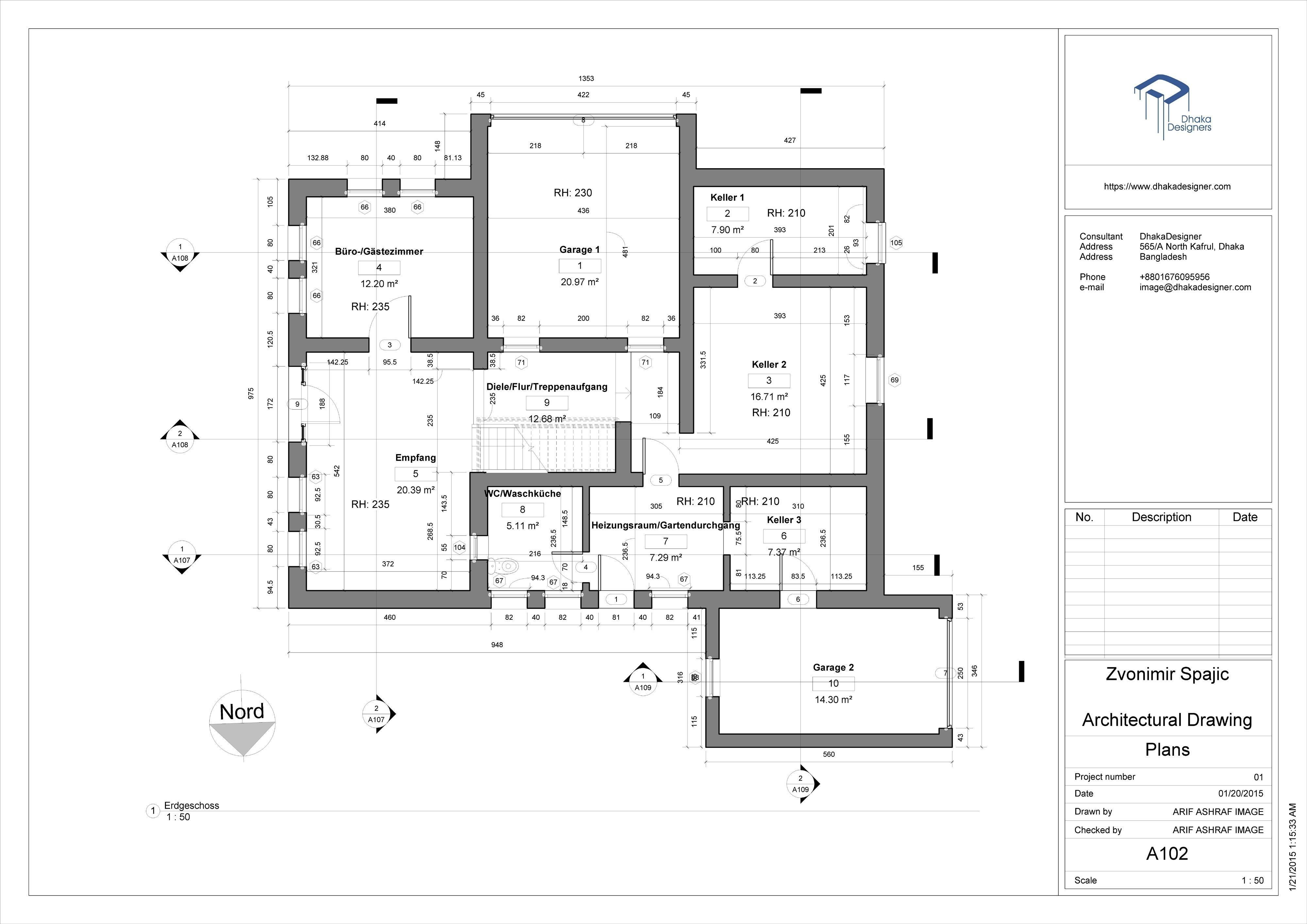 Architectural drawing in revit free 3d model rvt for Online architecture drawing