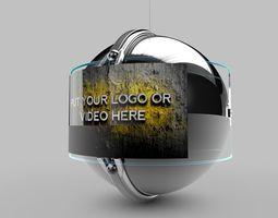 Sphere TV Screen 3D