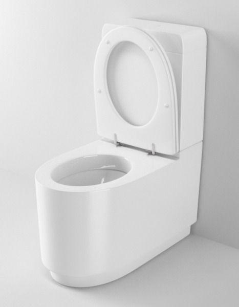 ideal standard moments toilet n26 3d model c4d. Black Bedroom Furniture Sets. Home Design Ideas