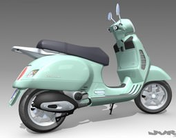 Vespa GT 200 3D Model
