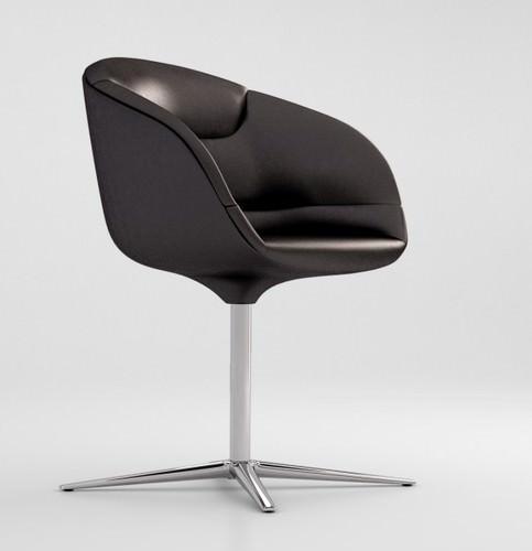 walter knoll kyo chair 3d model max obj. Black Bedroom Furniture Sets. Home Design Ideas