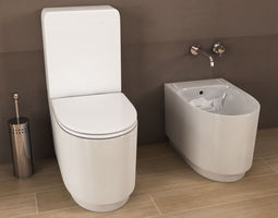 3D model Ideal standard Moments bidet