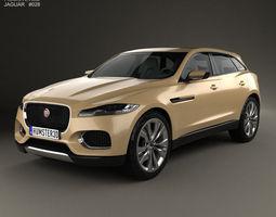 Jaguar C-X17 2013 3D model