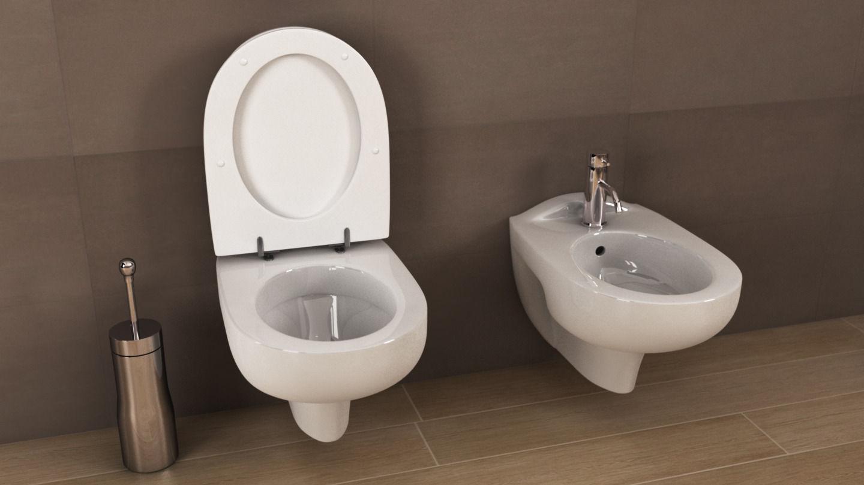 Ideal Standard Toilet : 3d ideal standard ala toilet cgtrader