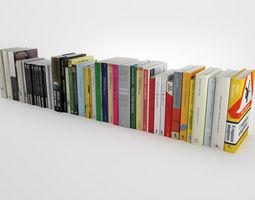 Novel collection 3D model